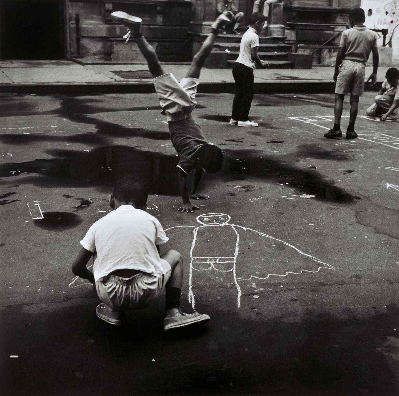 Children at Play, Photo by Hiram Maristany, 1965