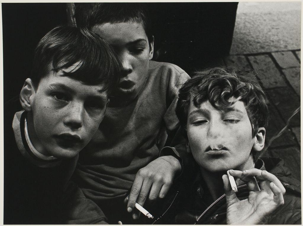 "Steven Liebman, American (20th century)  ""Harvard Men"" c. 1969"