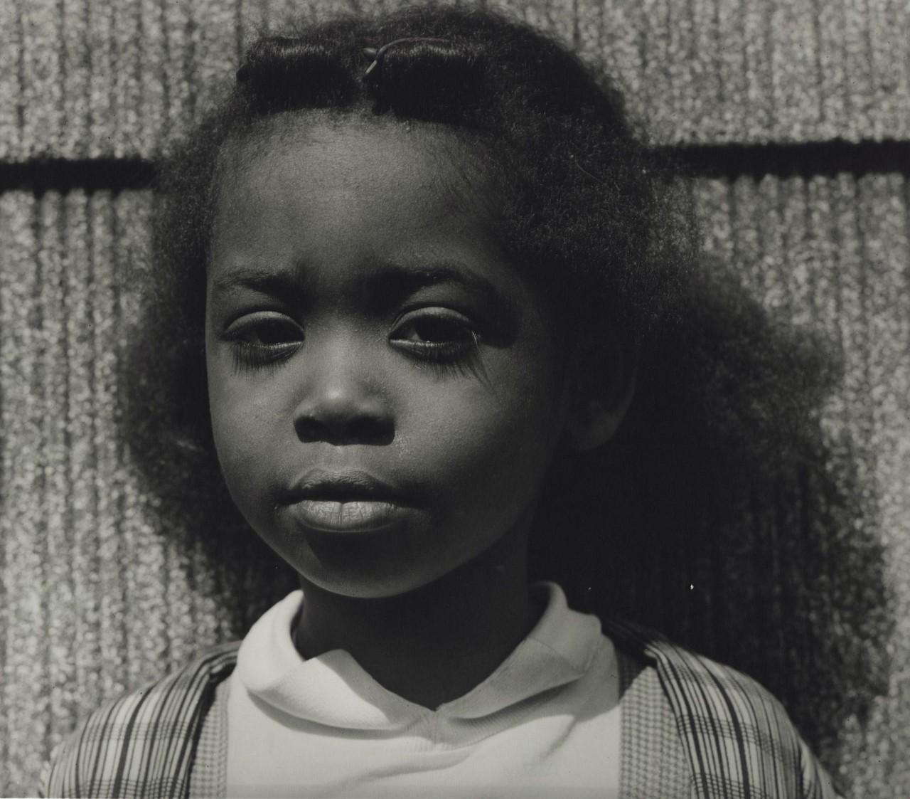 Jerome Liebling, Girl, West Side, St. Paul, Minnesota, 1962.