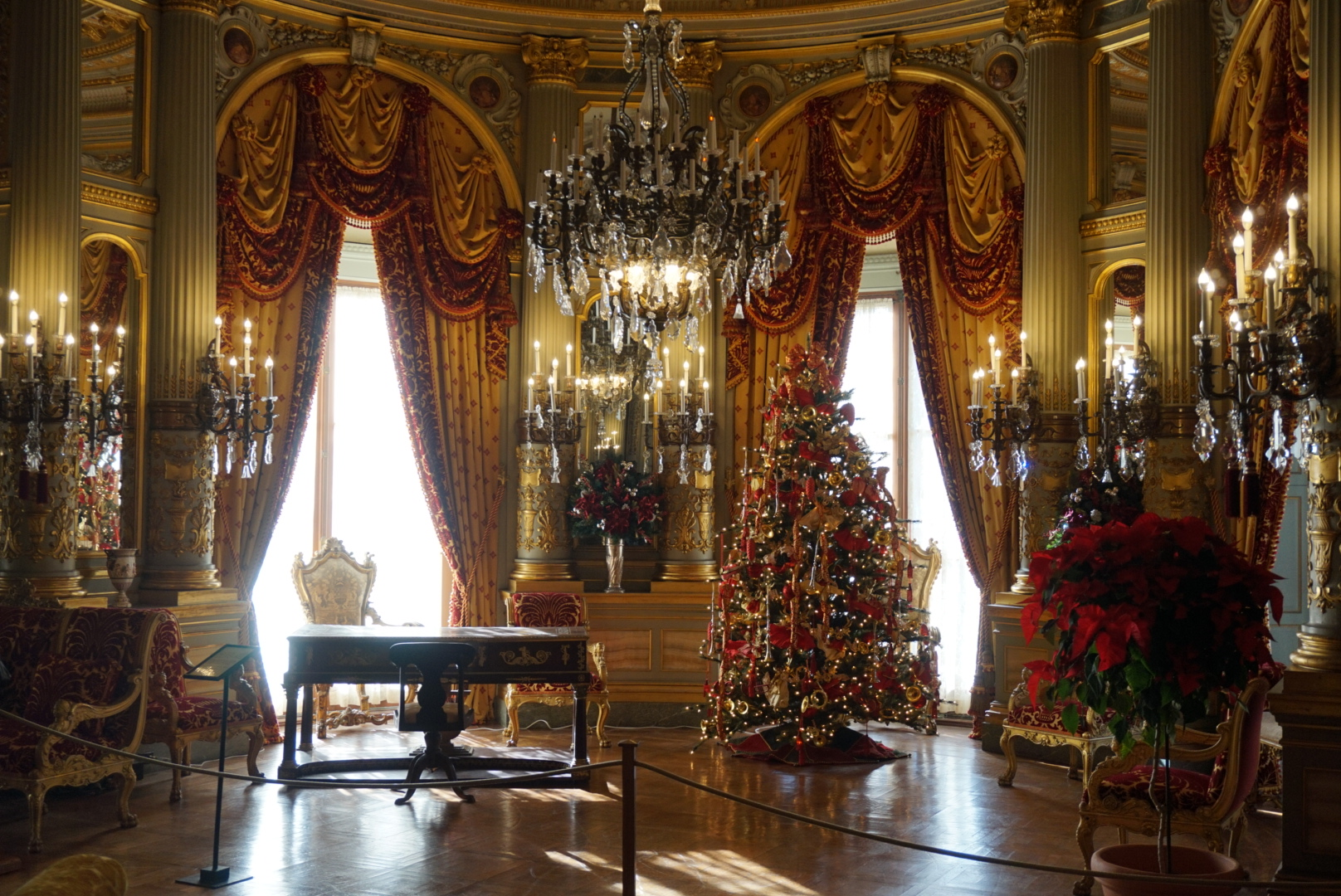 The Breakers - the music room.