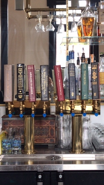 The tap handles!