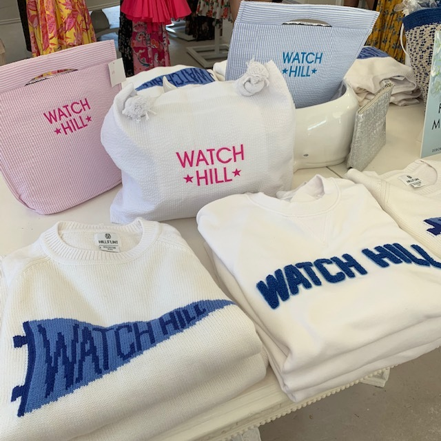The Watch Hill sweaters at Coco & Lala shop.