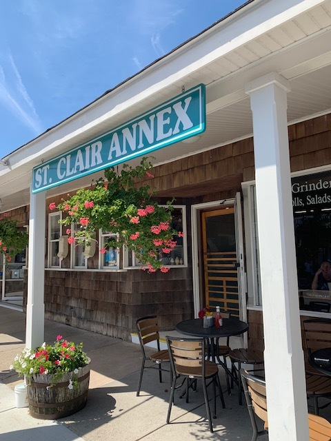 St. Clair Annex - the place to go for ice cream and lobster rolls!