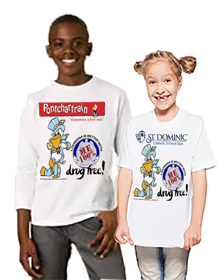 Customizable t-shirts for any school