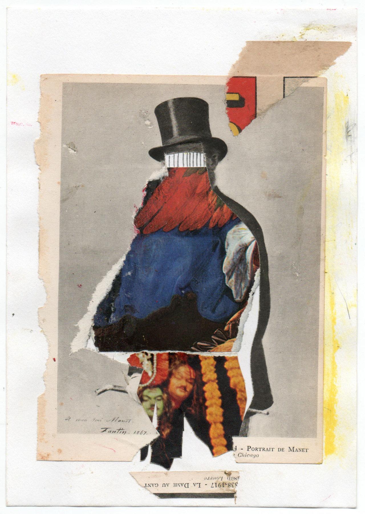 untitled (portrait of Manet)