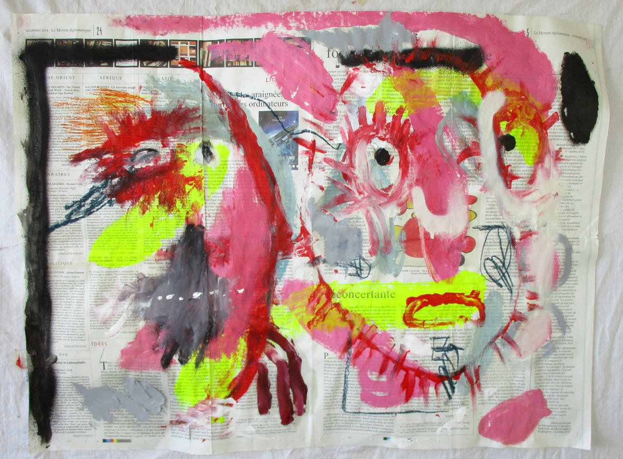 untitled (two heads)