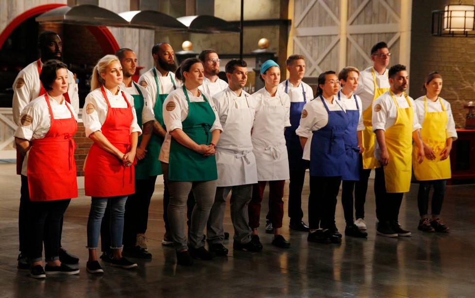Top Chef cast:Two Bay Area contestants make Season 16 cut - THE MERCURY NEWS October 18, 2018