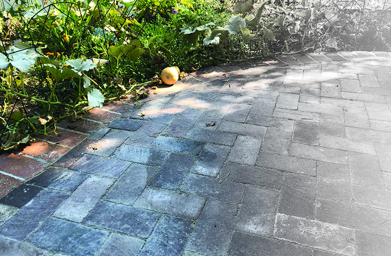 Porches & Patios:FLATWORK - Whether it's decorative garden borders or accented stair treads, flatwork - brick pavers & flag stone - can add color and texture to your place of residence, giving your cozy corner or street view more appeal...and value!