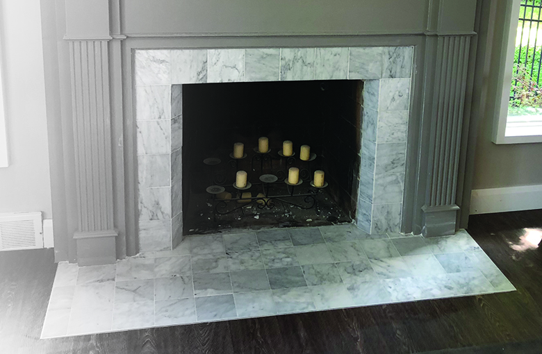 Flashy Facades:FIREPLACES - Does your old fireplace need a facelift? While many now sit unused do to environmental concerns, they are often still the focal point of the room. Updating their material & style will automatically add value to your home!