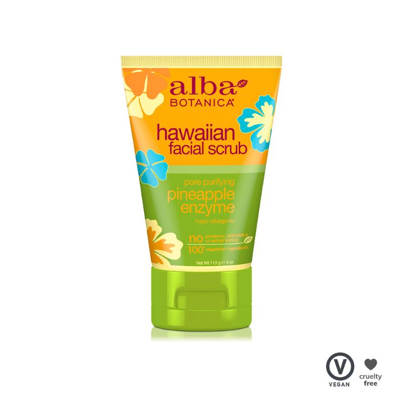 Alba Botanica Hawaiian Facial Scrub