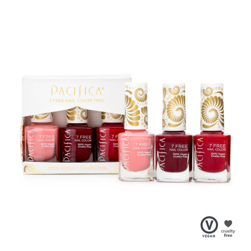 Pacifica Nail Polishes