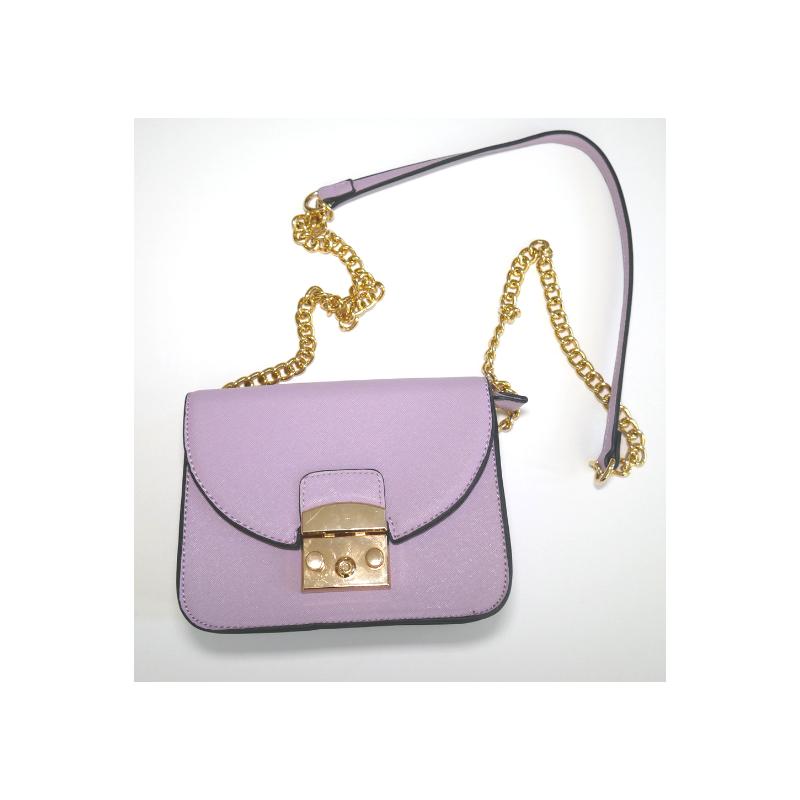 Lavender + Gold Purse
