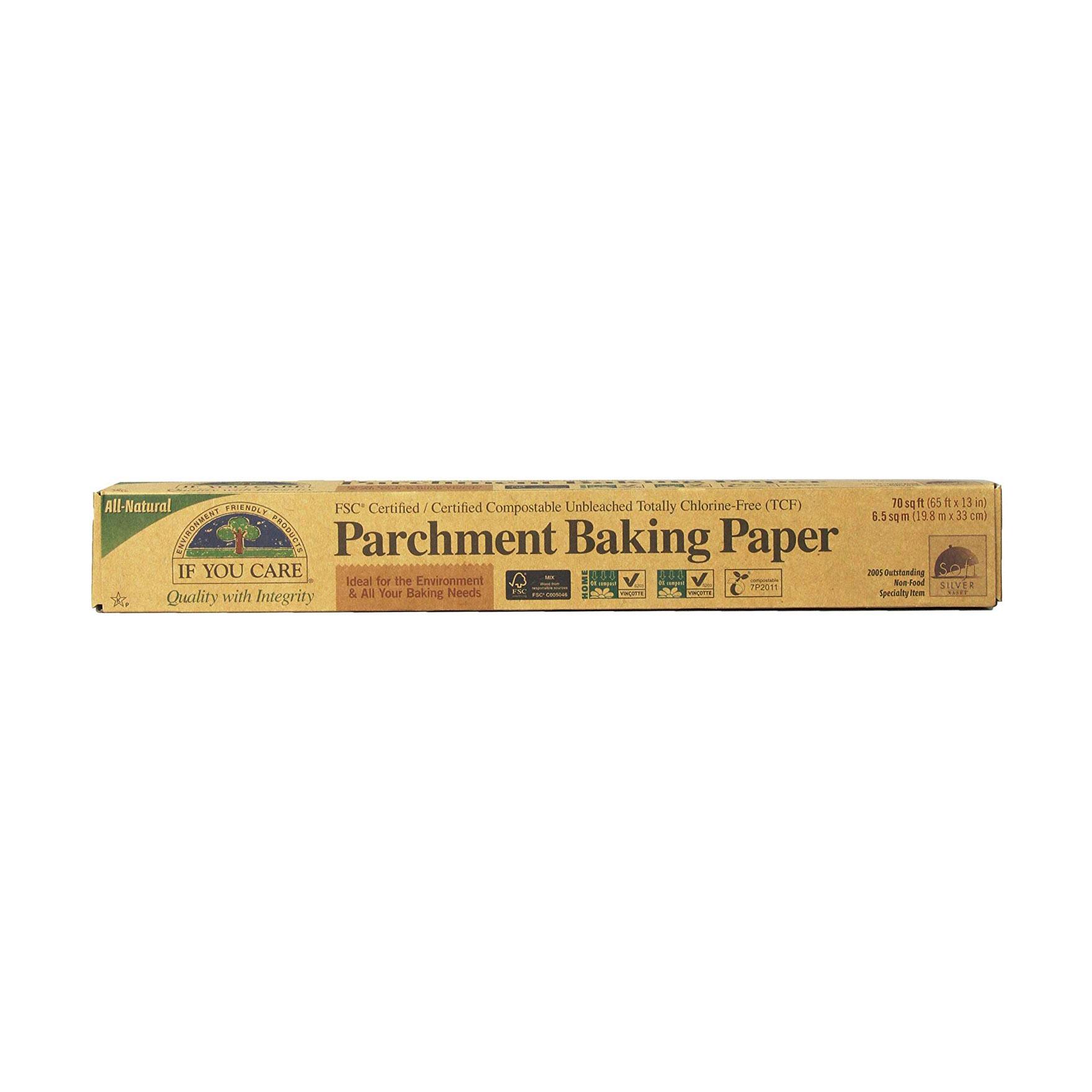 Compostable parchment paper