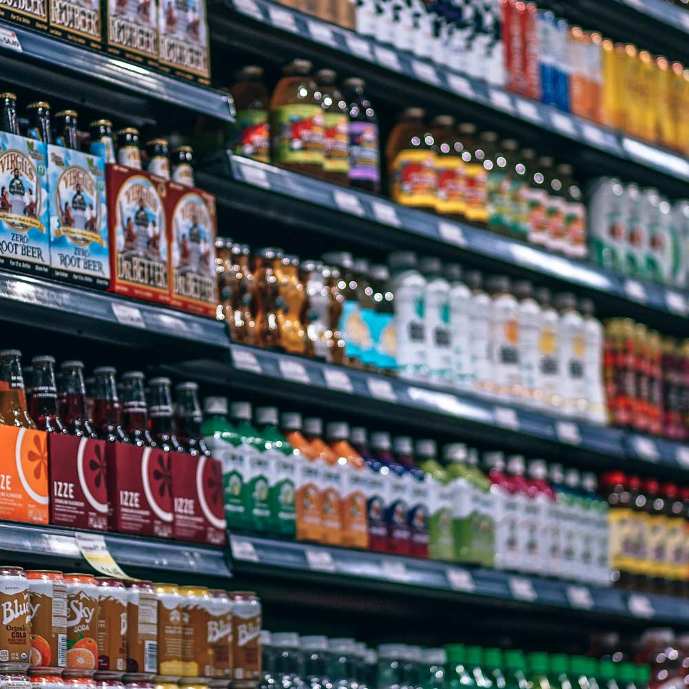 Soft Drinks & Water   We stock all the popular brands, plus waters and fruit sodas from Italy. Add some to your order and skip another stop on your way home.