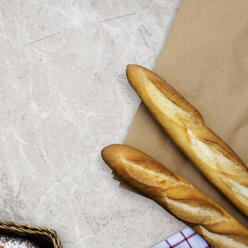 Breads   Every morning, we get fresh loaves from local bakers who still use the traditional ingredients and methods, like Artisan Bakers, Colombo, Cuneo, and Italian-French. Stop in or order online.