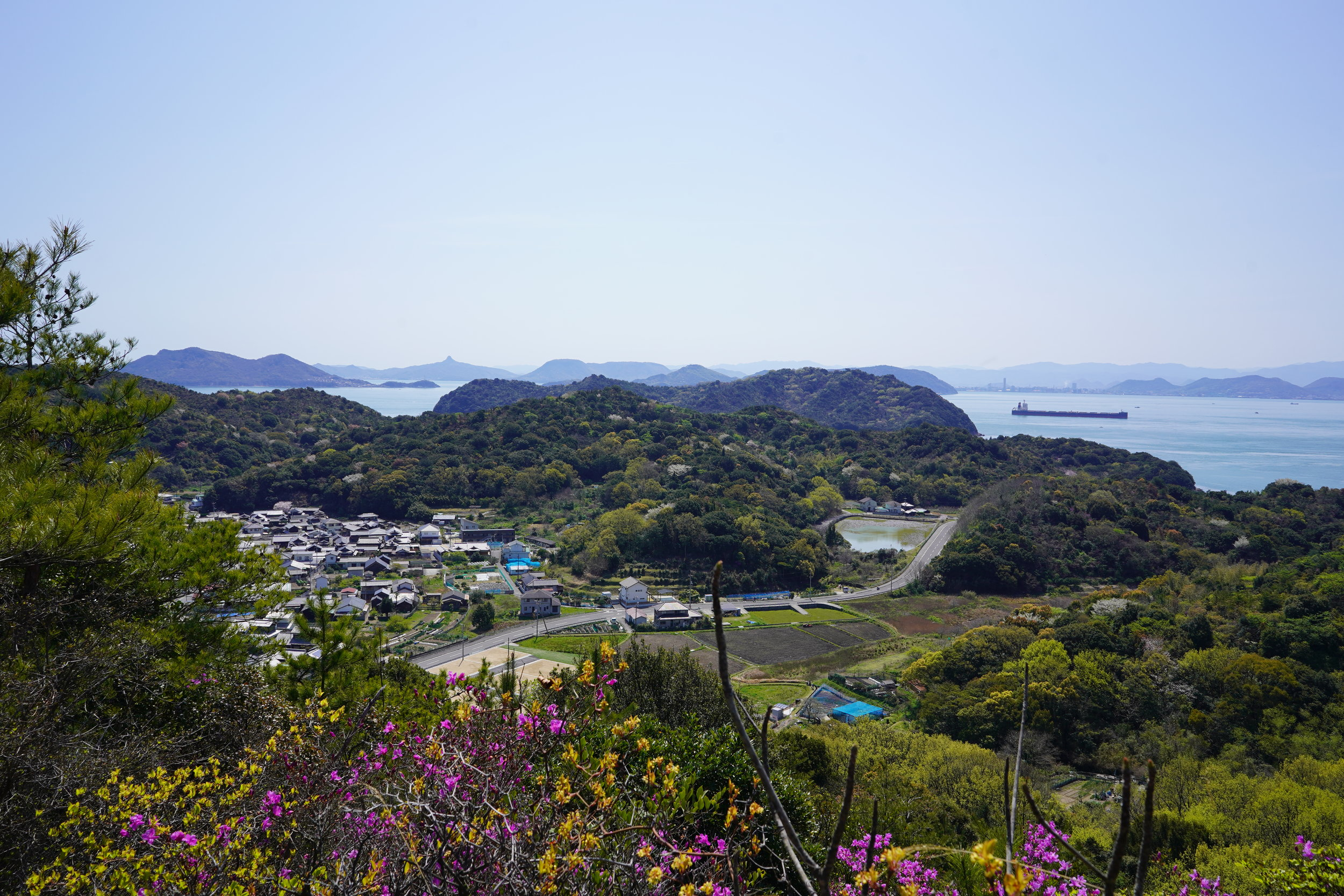 """The """"dying industrial waste dump"""" of Naoshima."""