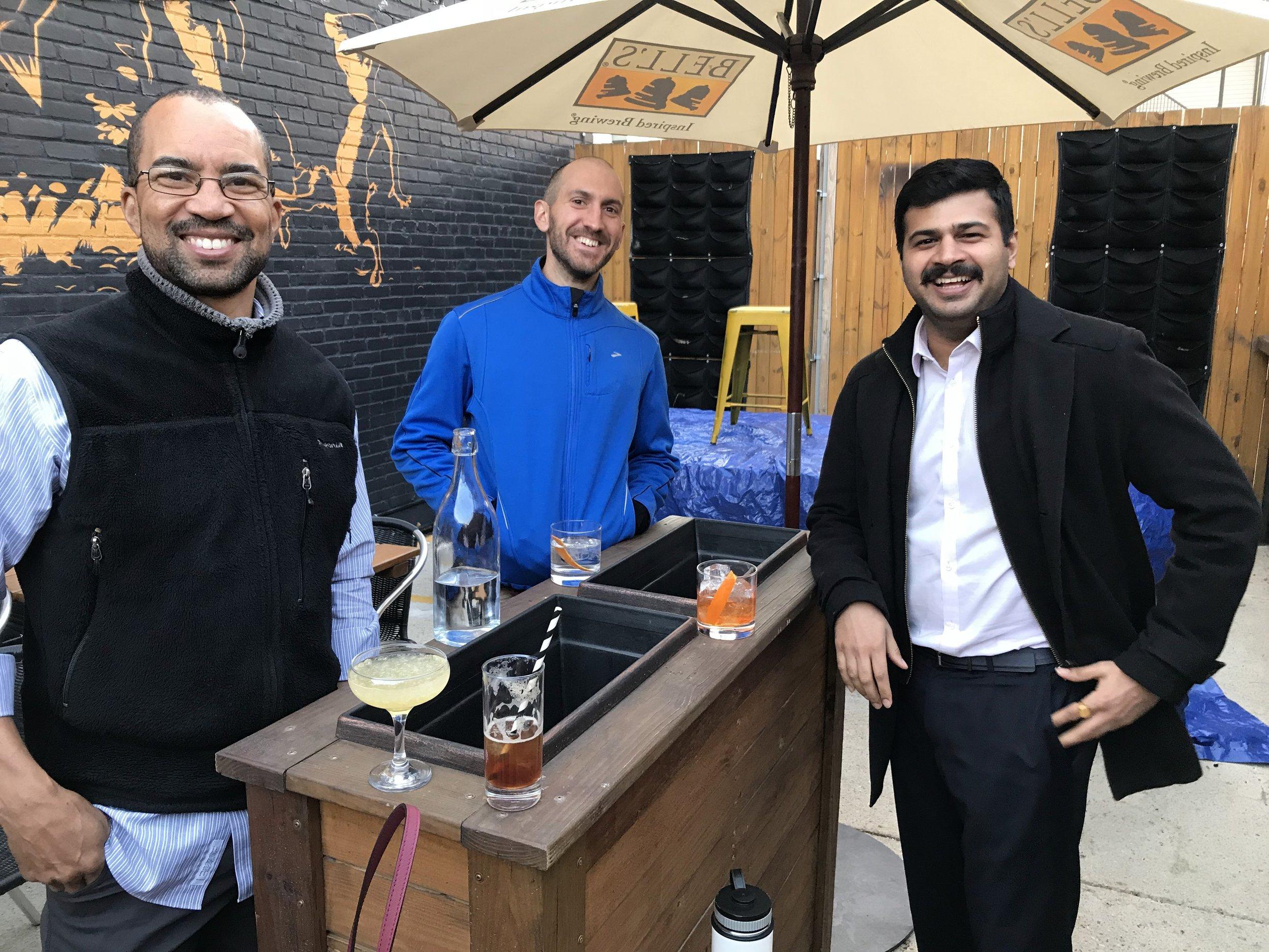 TrashHumans happy hour at Hank's Cocktail Bar