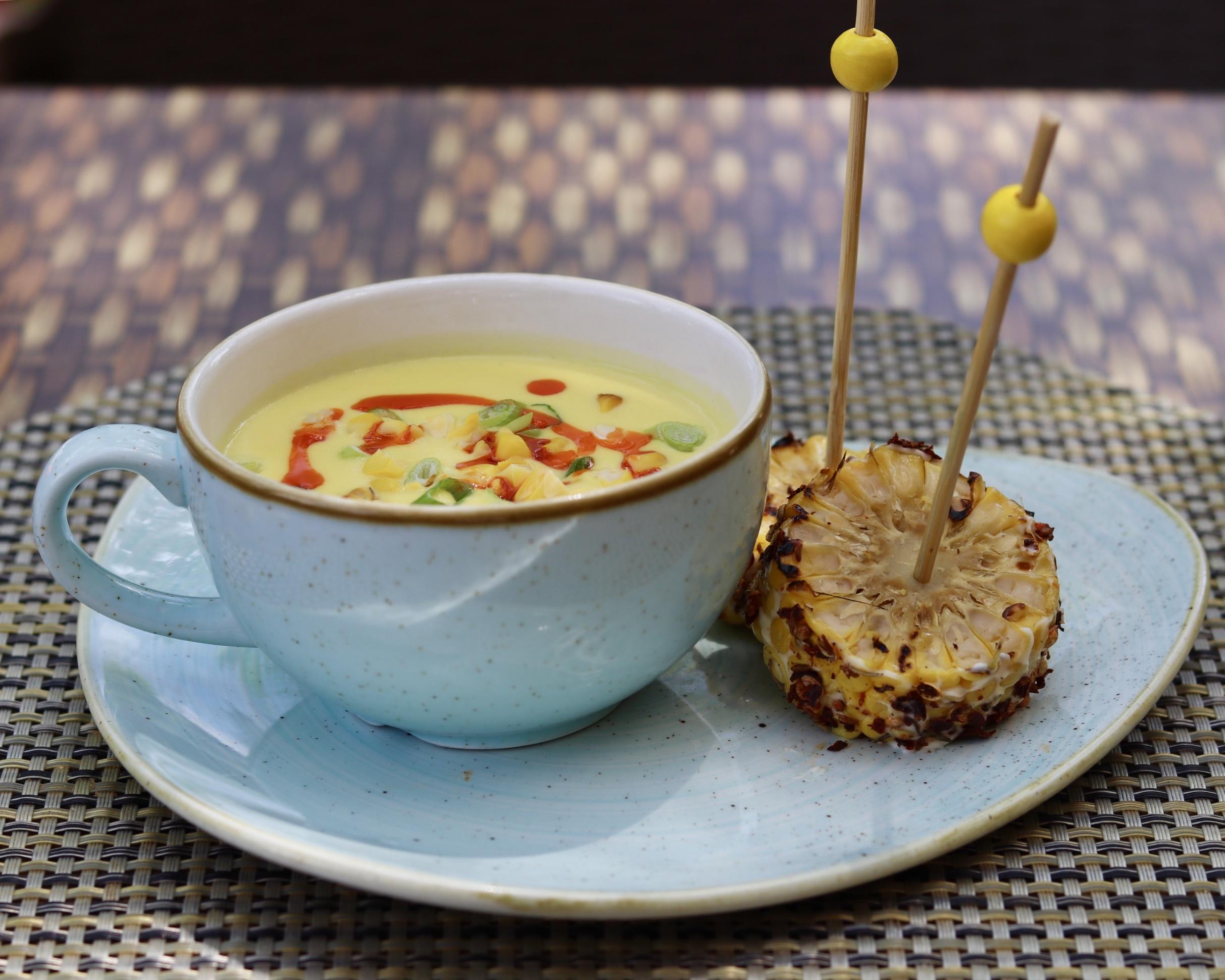 Corn Cob Soup. Equinox. (Photo by Mary Kong-DeVito)