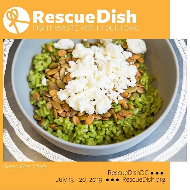 Ready, set, RescueDish!!!!! RescueDishDC starts TODAY and goes through July 20. Participating restaurants are featuring dishes that demonstrate how you can create amazing taste experiences from food that's (sadly!) often tossed. Check them out!  For a full list of restaurants & dishes, go to link in bio/https://www.rescuedish.org/rescuedishdc-1 . Restaurants include: @chaiatacos @teaism_dc @thesaltline @urbana_dc @thepigdc @santarosataqueria @fancyradishdc @blueducktavern @eatlittlesesame @anxotruxton @equinoxdc @sababadc @beefsteakveggies. . . . @maryculturist @amandajoyphotographics @lifeisfoodieful @slowfooddc @rooftoproots @accokeek_foundation @forested.us @commongoodcityfarm @zerowastefoodie @thethriftyspoon . . #dcfoodies #dcfood #federalfoodies #dcdining #nofoodwaste #foodwaste #sustainability #sustainable #roottoleaf #nosetotail #eat #eateverything #sustainabledc  #madeindc