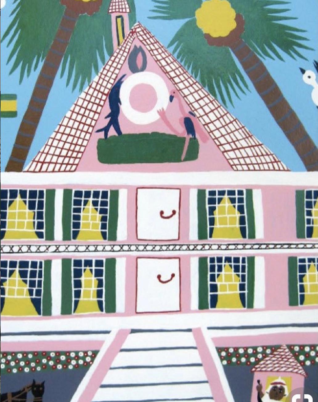 Painting by Amos Ferguson