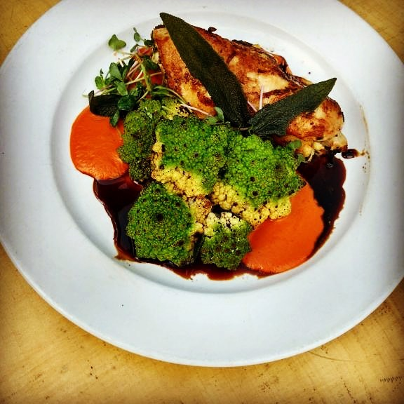 Today's special is a Stuffed Chicken Breast served with Romenesco for $15!  Come to Waterloo and take your taste buds to flavor town!