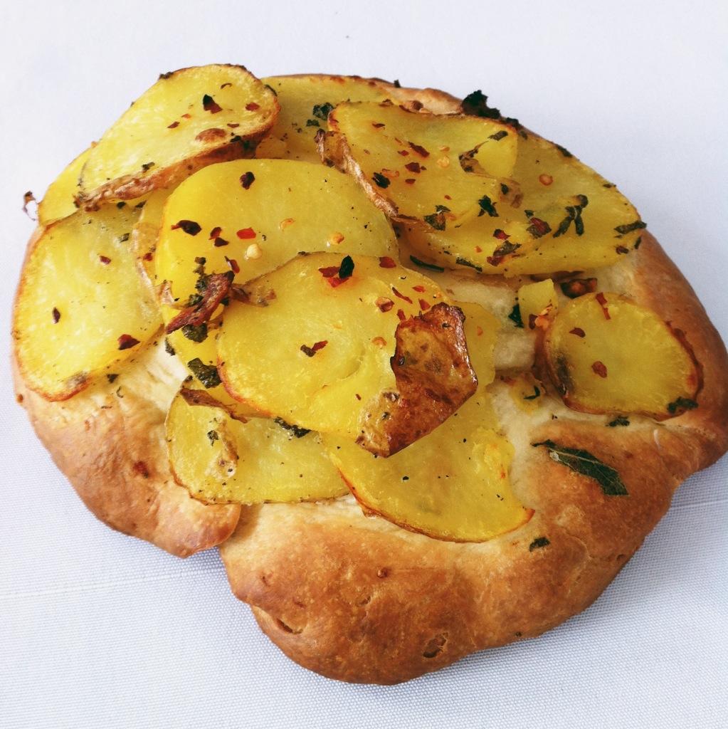 Homemade potato focaccia (2013,  ©  JOEL ANG PHOTOGRAPHY)
