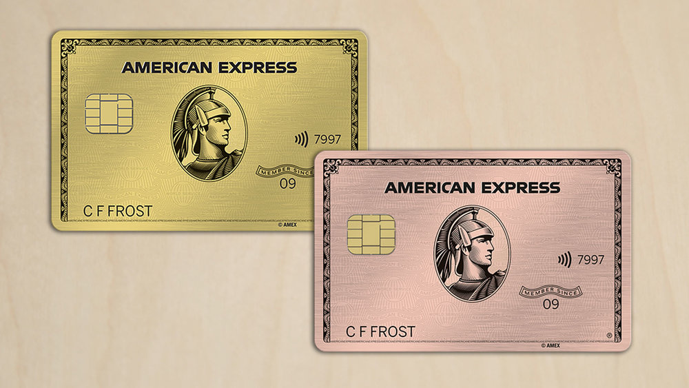 The new Amex Gold Card