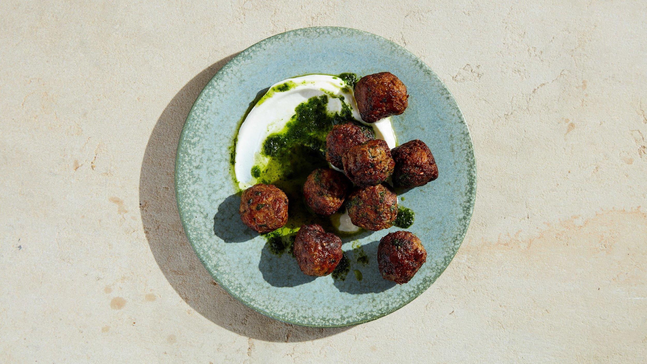 Lamb Meatballs (Image courtesy of Bon Appetit)