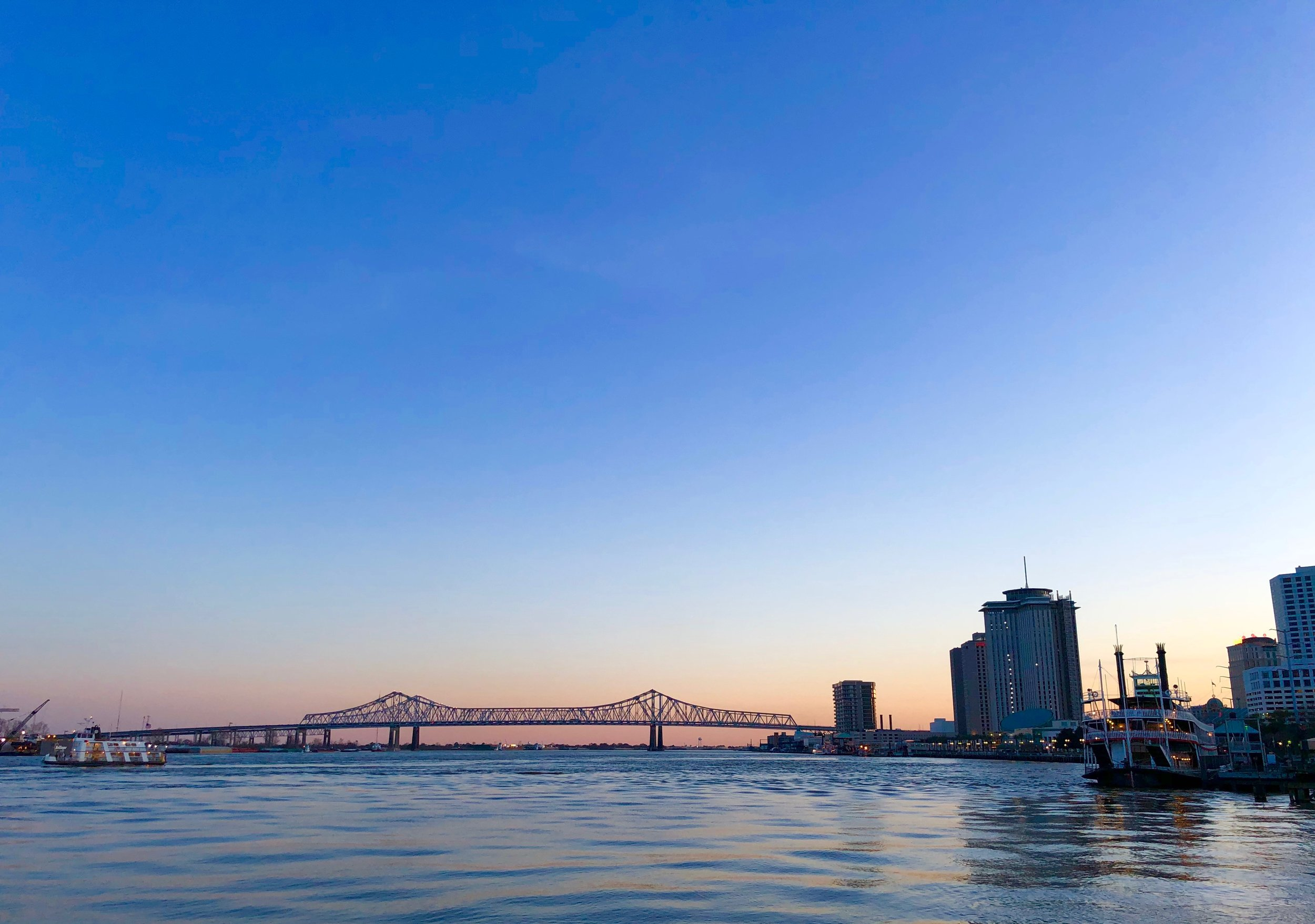 Sunset over the Big Easy (New Orleans, 2019,  ©  JOEL ANG PHOTOGRAPHY)