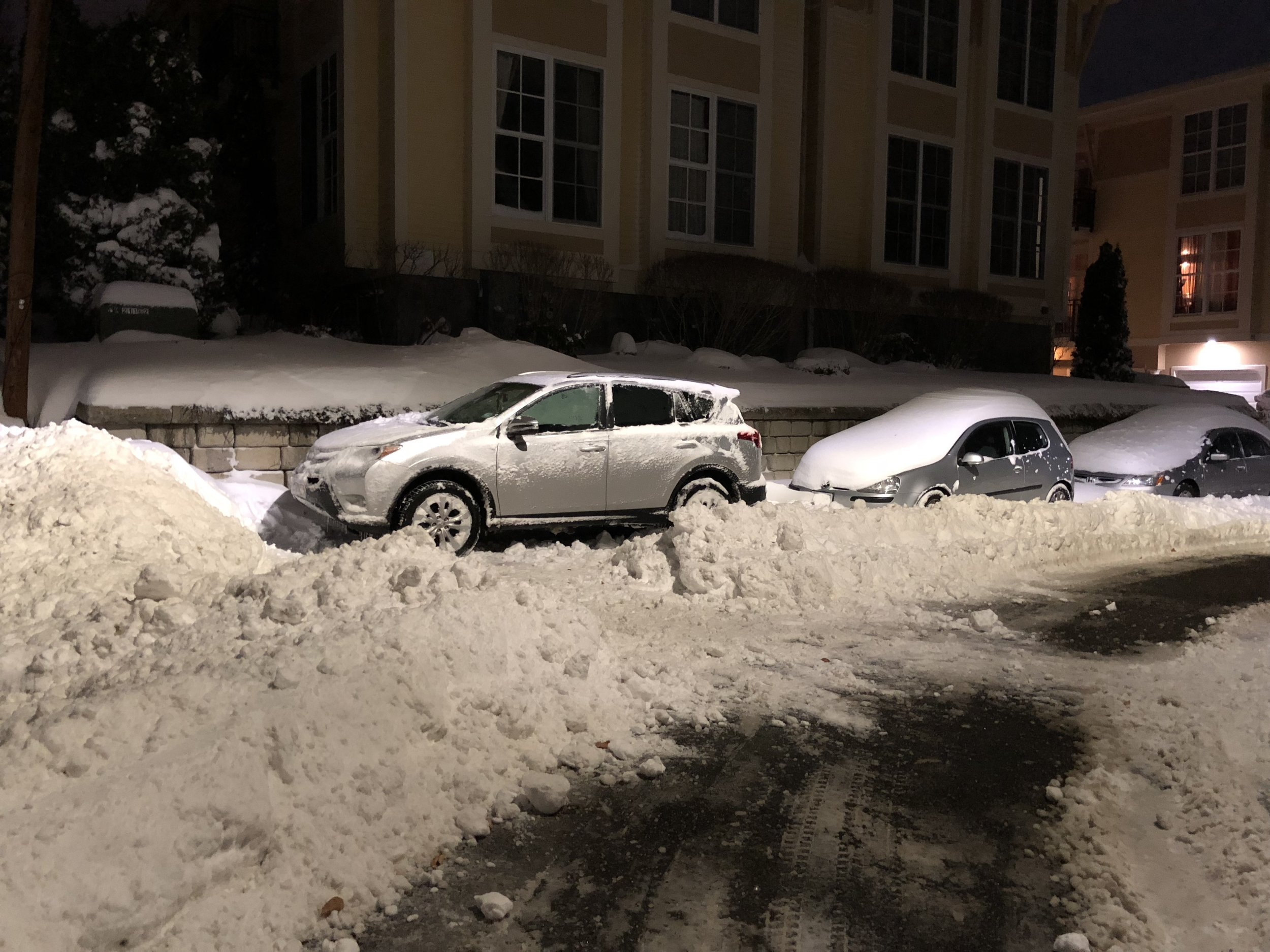 Definitely need brakes for the snow….