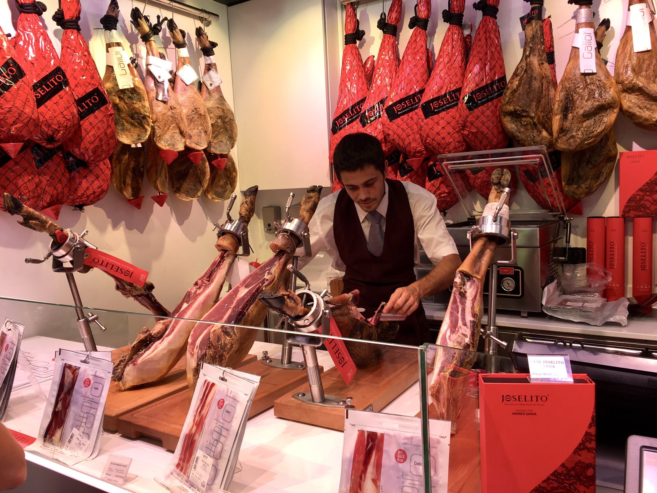 Points for buying jamon? (San Sebastian, Spain 2017  ©  JOEL ANG PHOTOGRAPHY)