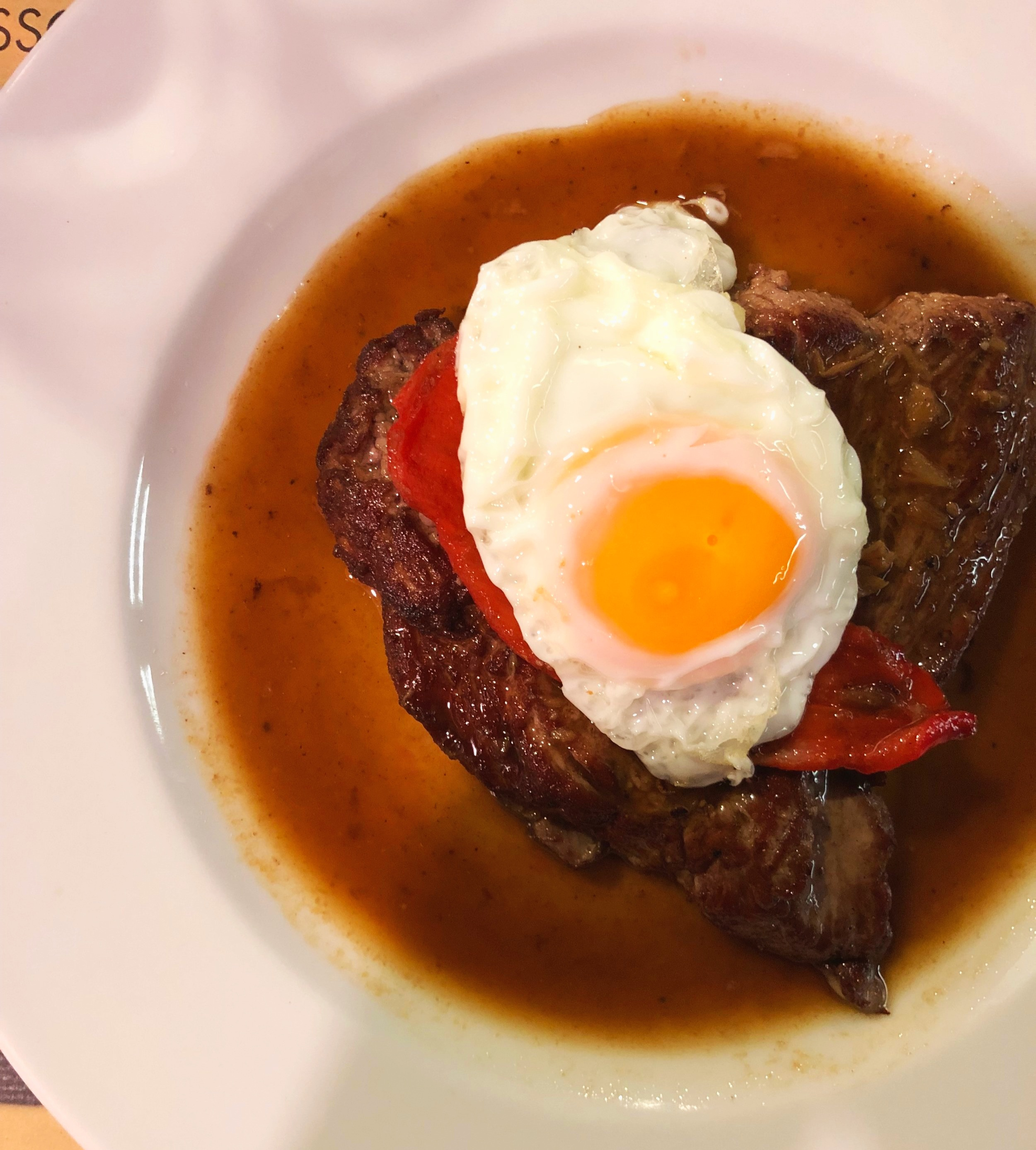 Steak and egg (AZORES, 2019  ©  JOEL ANG PHOTOGRAPHY)