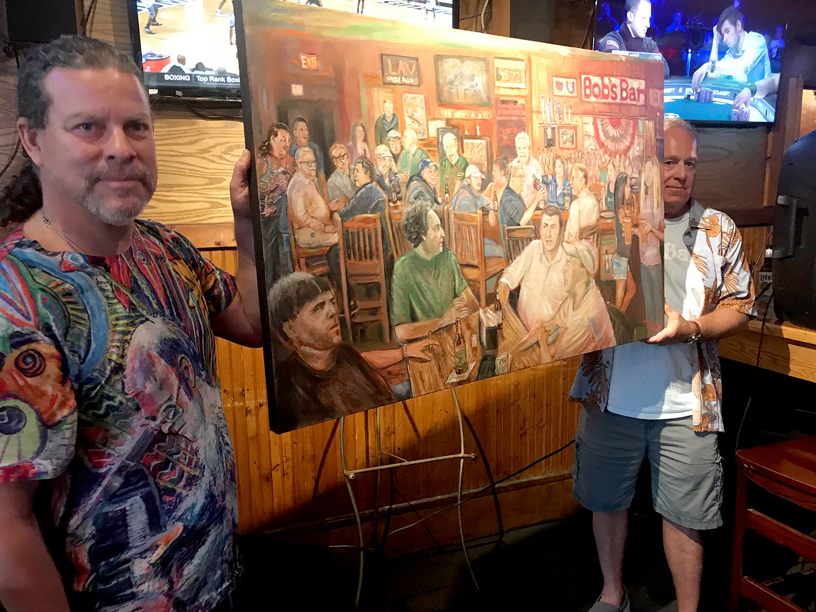 """The Cronies at Bobs Bar"", Grand Rapids, Michigan"