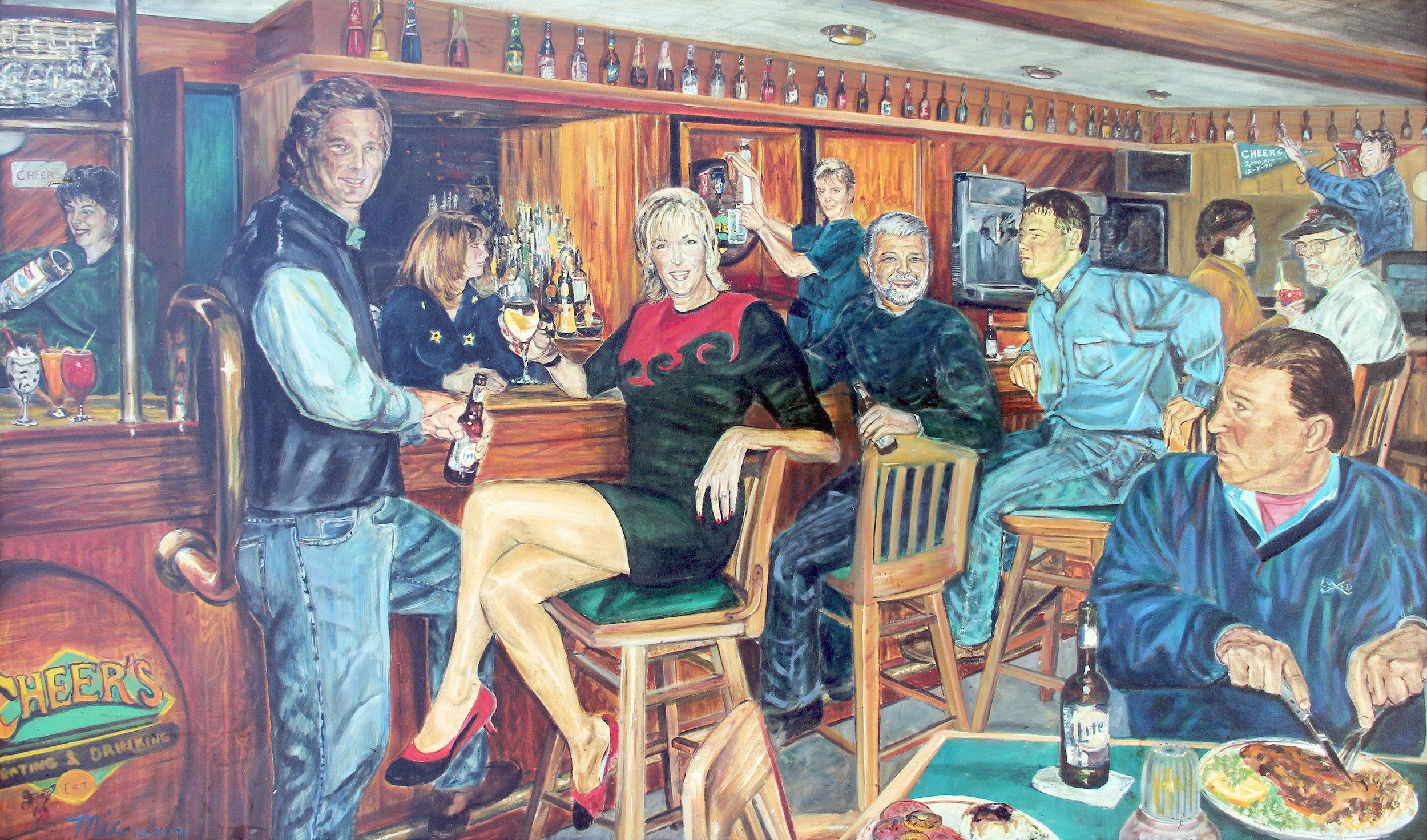 """""""Bar at Cheers"""" Grand Rapids, Michigan"""
