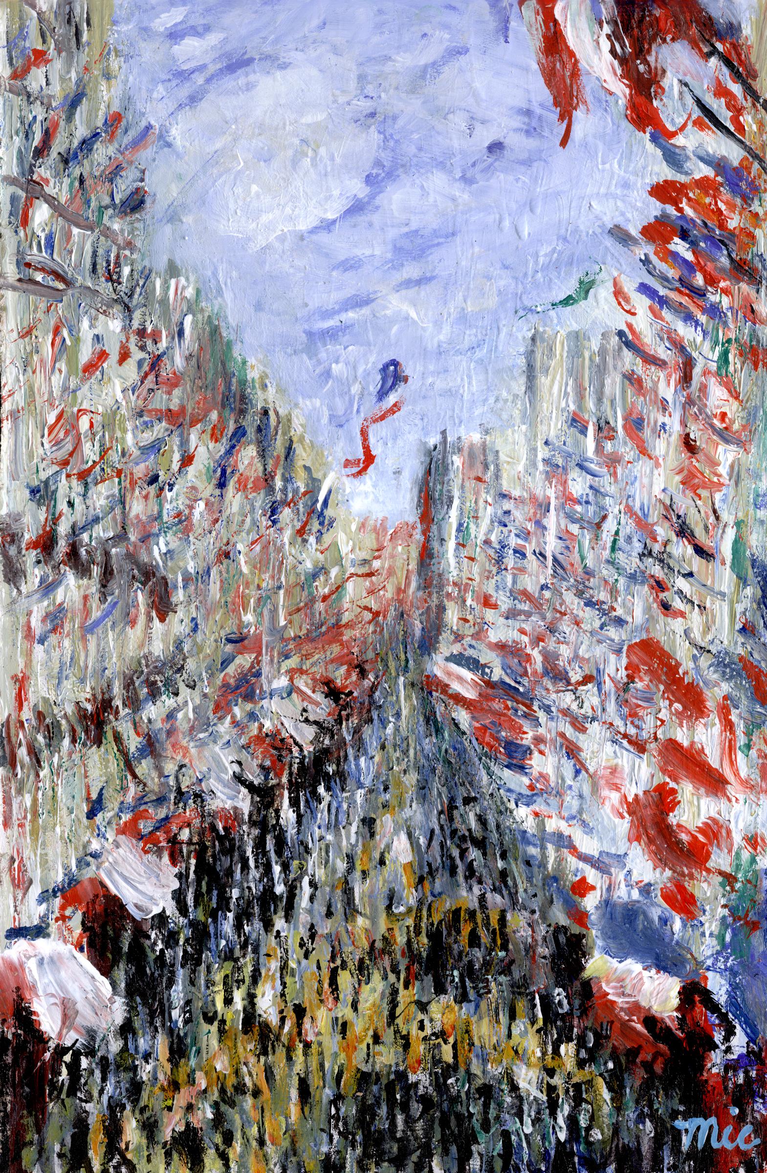 Monet Bastile day.jpg