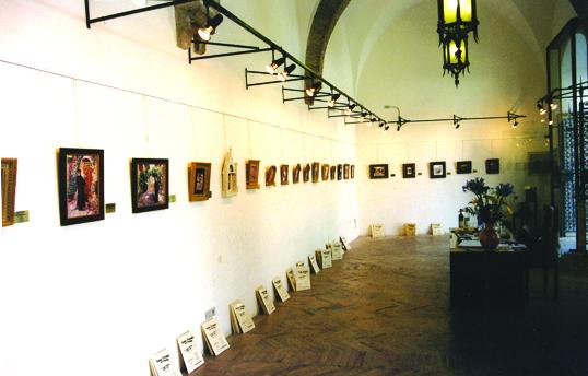Laloggie paintings inside show.jpg