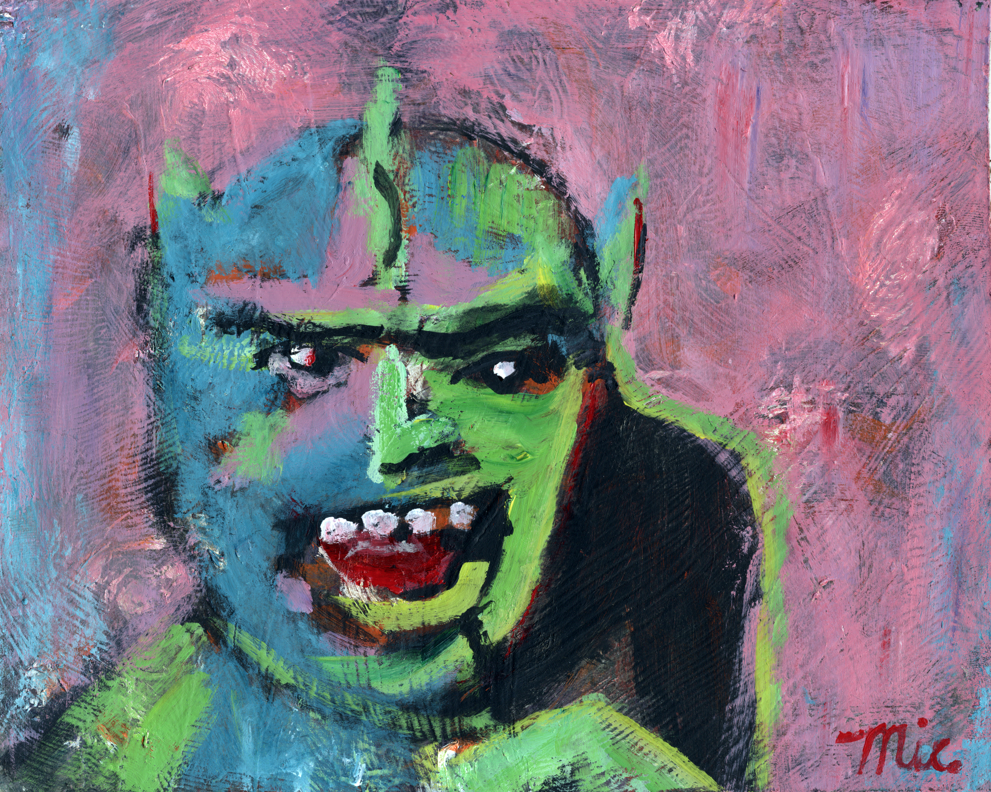 Absinthe Man - Acrylic on Canvas Private collection Robb WiersingGiclee Limited Edition and canvas prints are available. Please visit the prints gallery.
