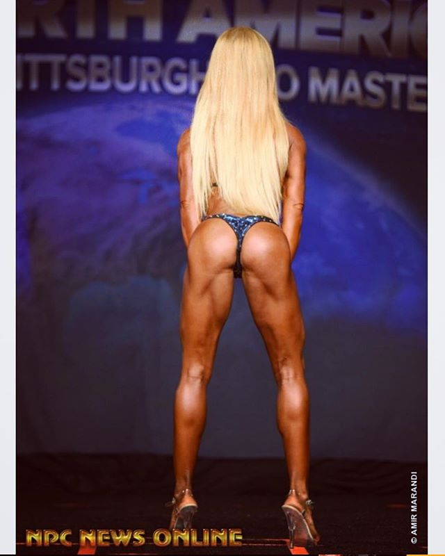 #humpday Haven't posted a NPC bikini stage back pose shot in awhile, so its time. Have a happy hump day my friends! Looking forward to prep and seeing how my glutes have improved, plus wearing a new 👙 by @ravishsandscompetitionbikinis * * * Time to get SCULPTED! If you have questions or need help with health and fitness goals, please email or DM me, website in bio. * * *  #npcbikini #operationprocard #roadtopro #girlswholift #npc