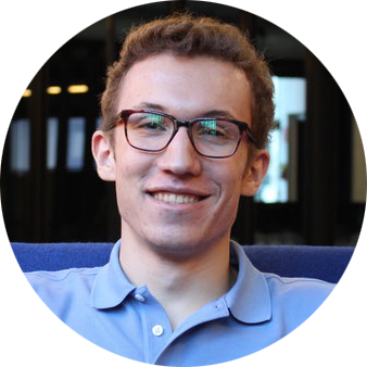 Sam Winslow  Graphic Design Lead  Sam is a sophomore at NYU Steinhardt where he majors in Media, Culture, and Communications. In addition to working as a graphic designer, he is interested in typography and photography.