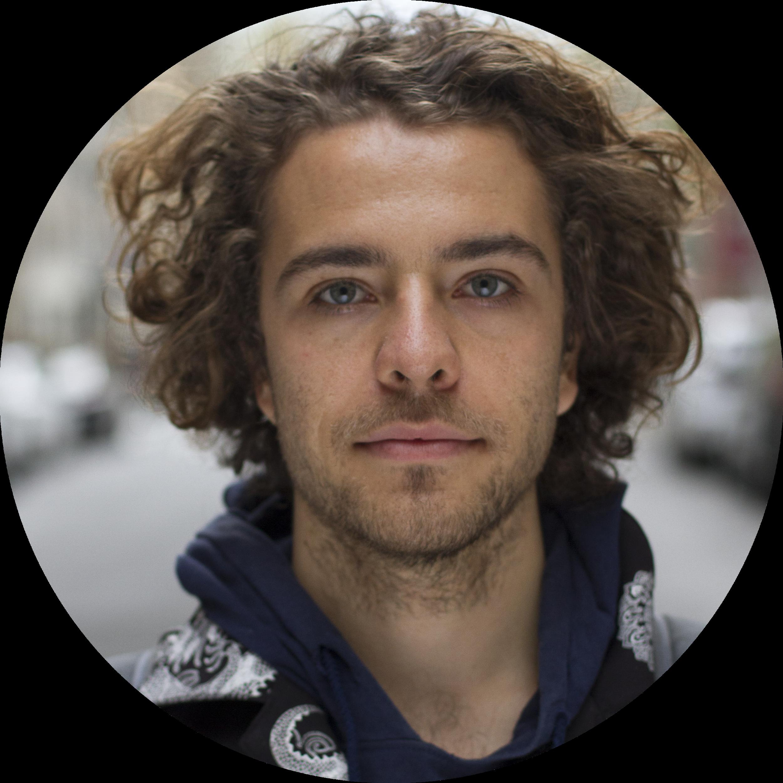 Mamoun Grosvenor  Science Guru  Mamoun is a junior at NYU Gallatin who is concentrating in Symbiotic Design. His interests include passive solar hot air balloons, algae, mycelium, and arborsculpture.