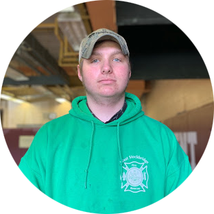 David Kilmer  Monument Mountain High School  David is a junior at Monument Mountain. He is interested in autoshop, and the redesign project. He loves being a junior firefighter and loves doing auto and woodshop. He enjoys fishing, hanging out with friends, and being outside.