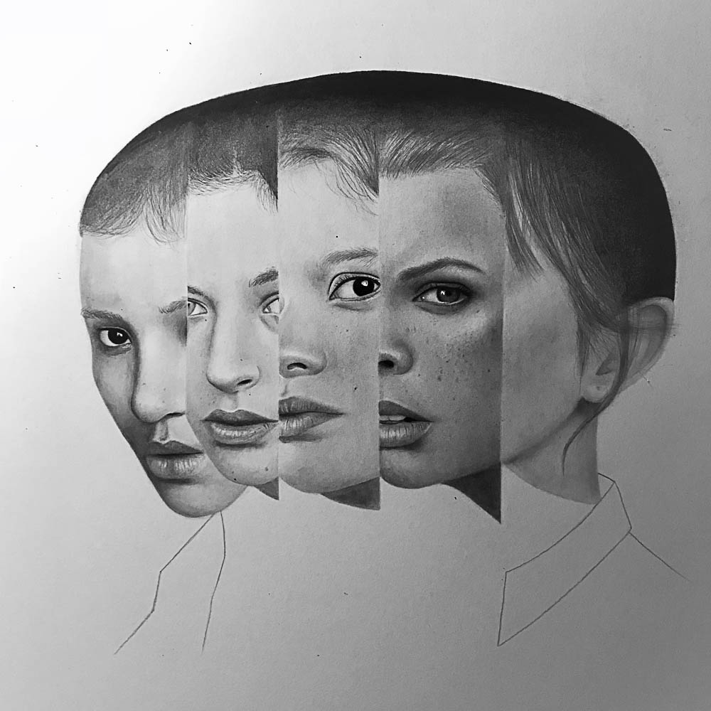 Ellie Newland's work entitled 'Conflicted' will be on show.