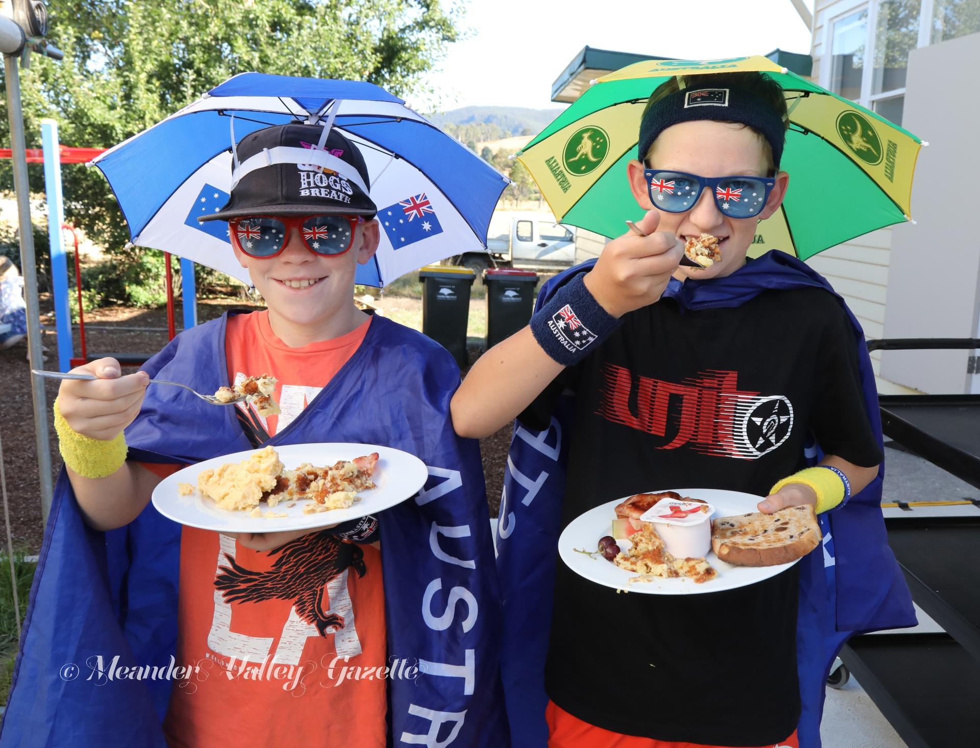 Australia Day breakfast Chudleigh 2019 image 1