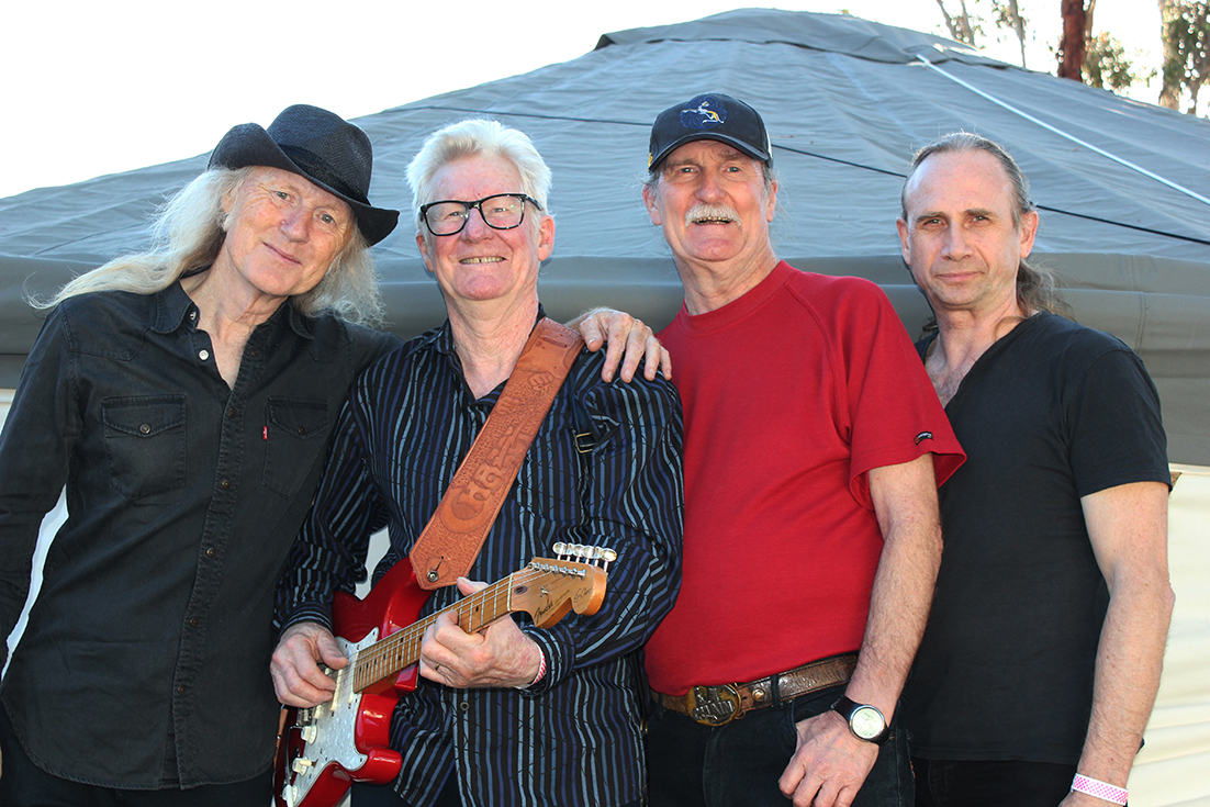Legendary Australian rhythm and blues band Chain, celebrate 51 years as a band, appearing at the 22nd Forth Blues Festival in March.   Photo | Hayley Manning