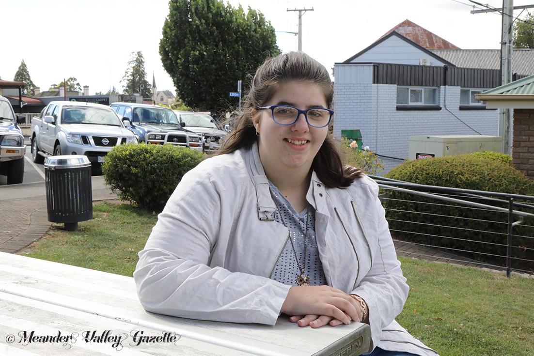 Sarah Larcombe of Westbury has been awarded this year's tertiary scholarship.   Photo | Maggie Howe