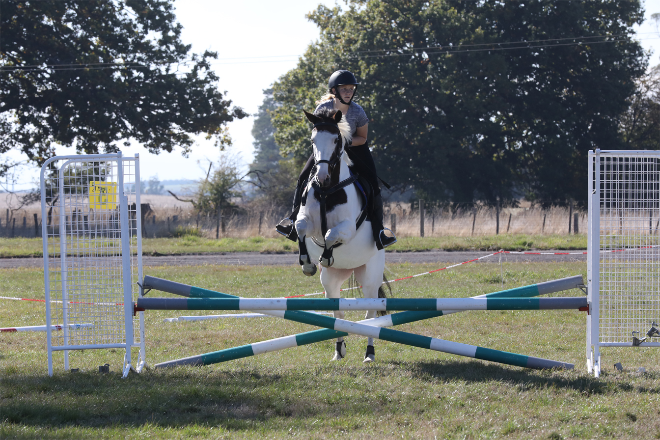 Bethany Macfarlane, 16, and her horse Kylie are looking forward to improving their showjumping over winter. From Exeter, Bethany rides for the Birralee and Districts Pony Club and has just joined the Tasmanian Showjumping Association (North).  Photo by Mike Moores