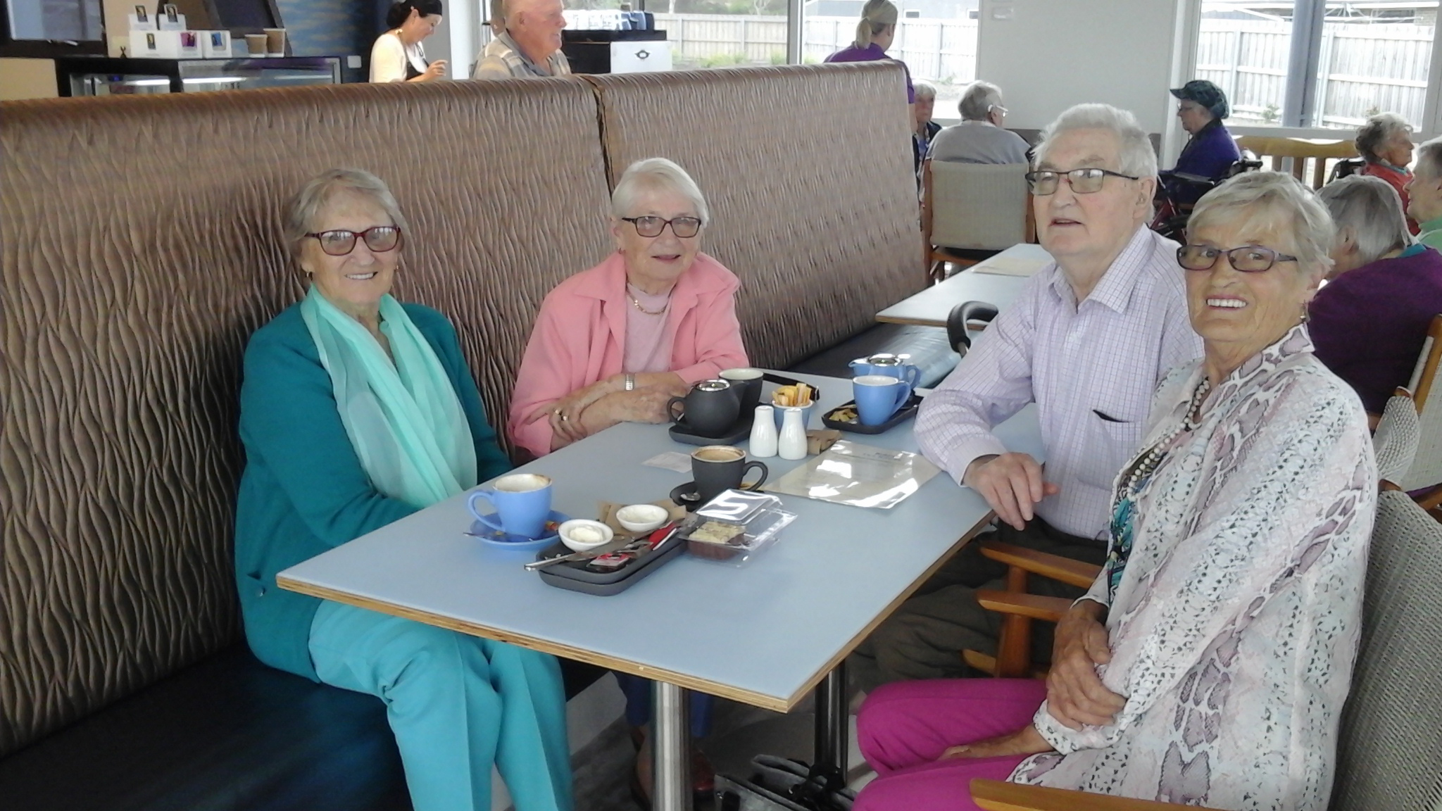 Rubicon Grove facilities include a cafe for residents and guests.  Photo supplied