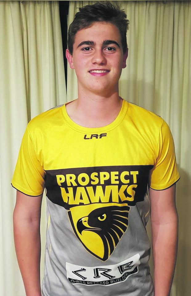 Hawks U15 Khai Lunson  Photos supplied