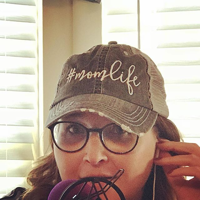 Tammy's new hat! #momlife #theholymesspodcast #mess