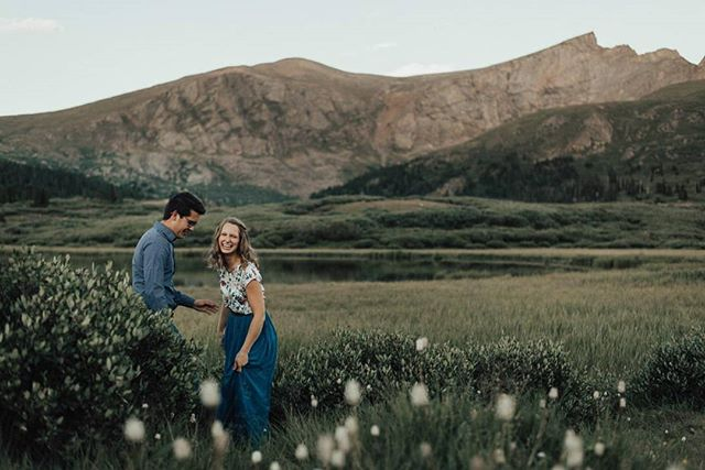 Laughter is one of the most important parts of our relationship together. Without it, we wouldn't make it through long weeks and stressful moments of life. 😍🥰 Find someone who you can laugh the stress away with! . Thanks @trinity_photo for taking us out to enjoy the mountains. Y'all create beautiful photos. . . #blessed #mountainlife #thisisus #laughter #love #happinss #guanellapass #coloradomountains #engaged #elopementphotographers #royaloakfilms